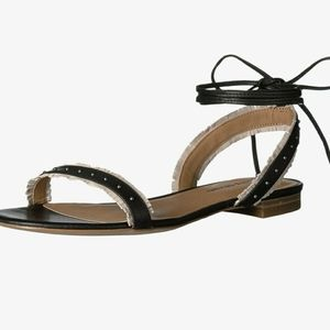 Lucky Brand lace up Toree flat sandals